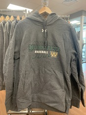 2020 Woodchucks Under Armour Grey Hoodie